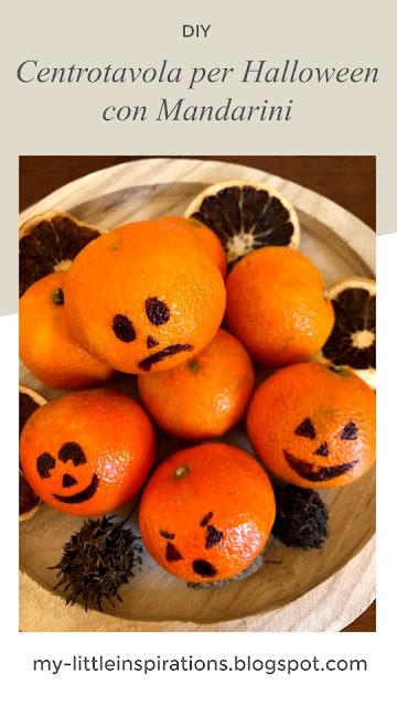 Centrotavola per Halloween con Mandarini - titolo ITA - MLI