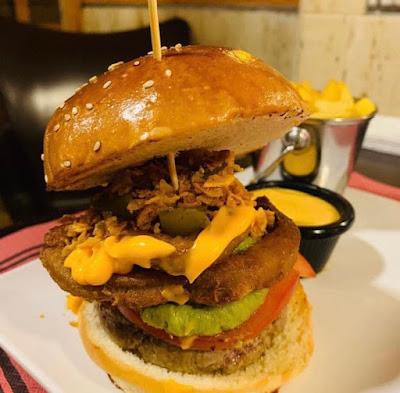 Hamburguesa de Terral Burger & Drinks en Málaga