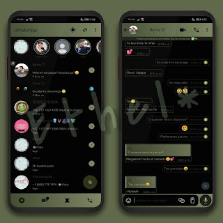 Green Gradient Theme For YOWhatsApp & Fouad WhatsApp By Ethel