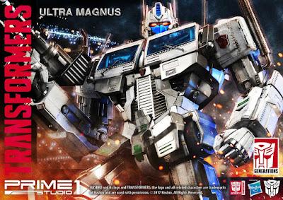 Ultra Magnus della Prime 1 Studio per la linea Premium Masterline
