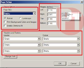 Mccamish printer setting for windows