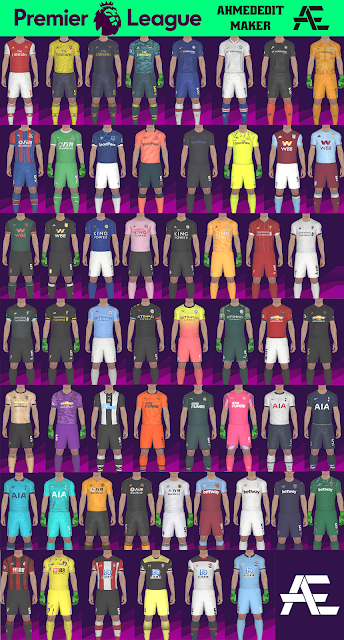 Premier League Kit Pack V3 Season 19-20 By AhmedEditMaker