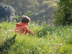 niños, naturaleza