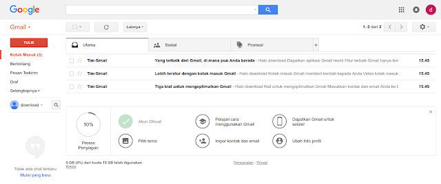 Cara Membuat Email dari Google