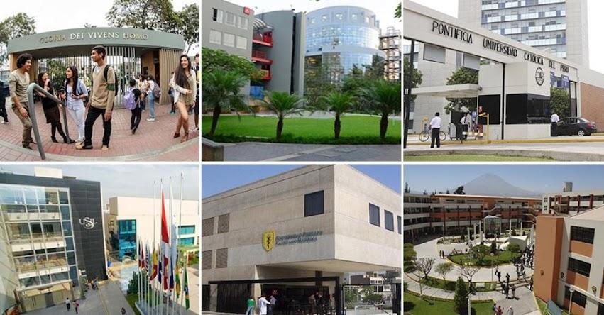 Once universidades licenciadas cuentan con programas de estudios acreditados por el SINEACE - www.sineace.gob.pe