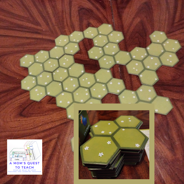 A Mom's Quest to Teach: Building Critical Thinking Skills with Games: A Review of Battle Sheep with pasture tiles for Battle Sheep