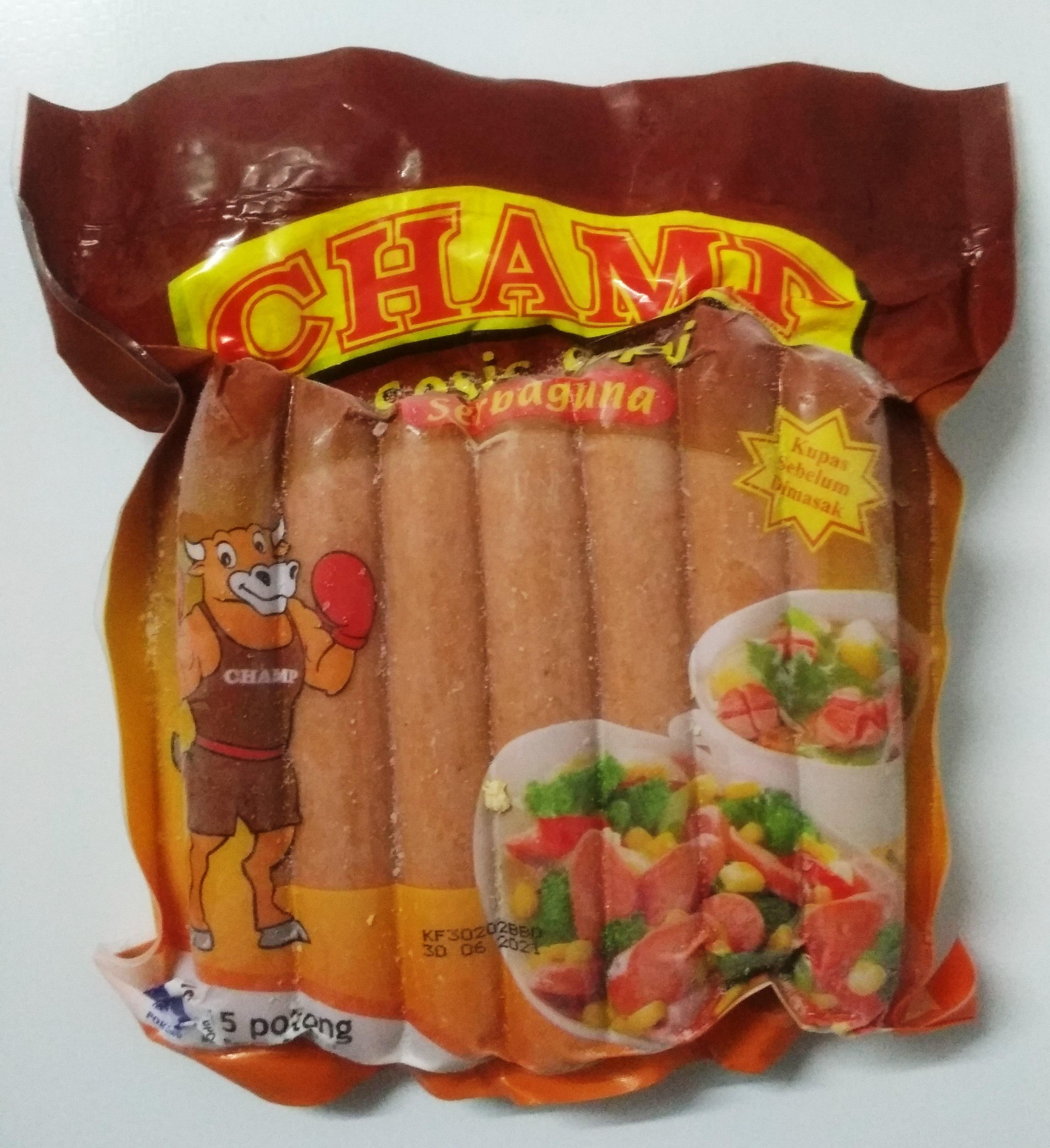 Sosis daging sapi 15 potong champ
