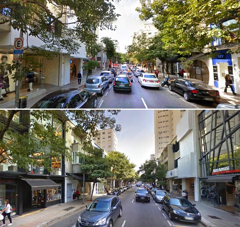 Rua Oscar Freire | Trecho entre R. Augusta e R. Hadock Lobo