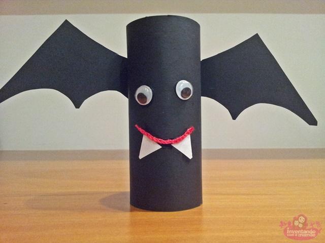 Personagens de Halloween para fazer com as crianças