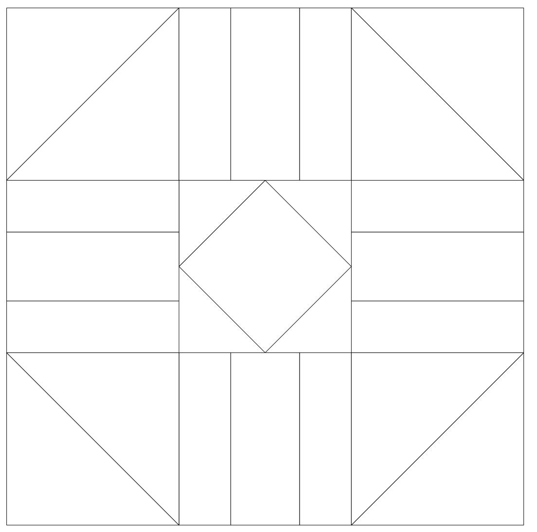Imaginesque Quilting Quilt Block 32 Pattern Amp Templates