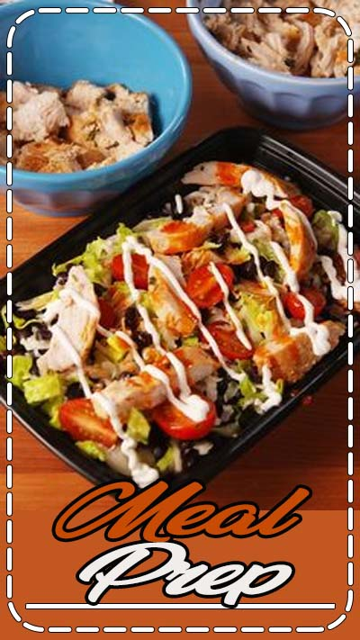 Meal prep like a boss.
