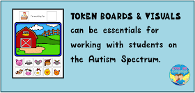 Using token boards- Getting Started with Autism at Looks Like Language