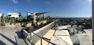 The rooftop at the Biosfere shopping centre in Puerto Del Carmen, Lanzarote. Photo by Brian Butterworth, January 2018