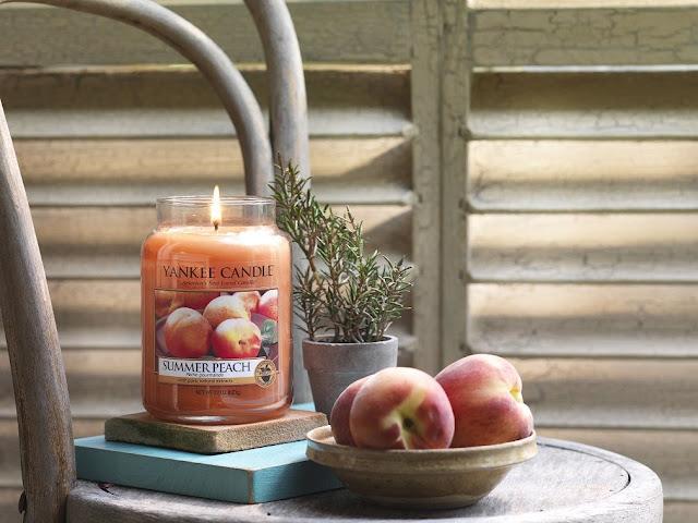 avis Summer Peach de Yankee Candle