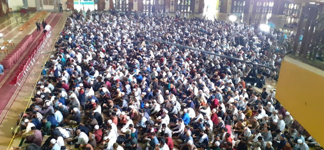 20.000 Orang Hadiri Tabligh Akbar di JIC, Anies: Penanda Kebangkitan Umat Islam