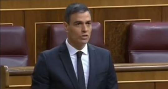 """Sánchez a Casado: """"Si habla, actúa y vota como Vox empieza a parecerlo"""""""