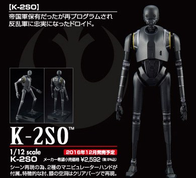 Image result for Bandai 1/12 K-2SO