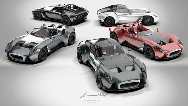 Jannarelly ra mắt siêu xe Design-1 UK Edition phiên bản đặc biệt