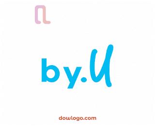 Logo By U Vector Format CDR, PNG
