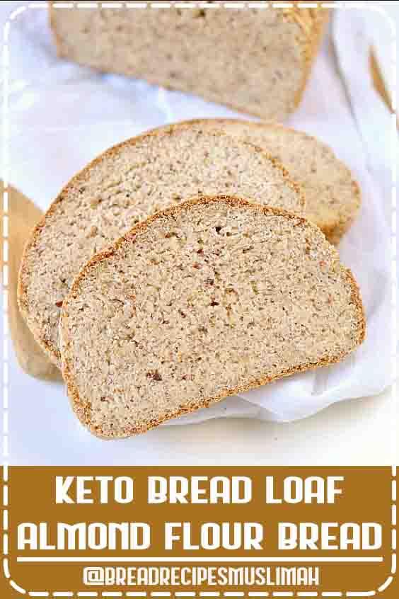 KETO BREAD LOAF | ALMOND FLOUR BREAD
