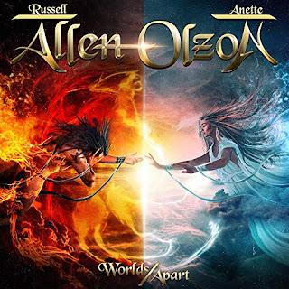 "Το βίντεο των Allen / Olzon για το ""I'll Never Leave You"" από το album ""Worlds Apart"""