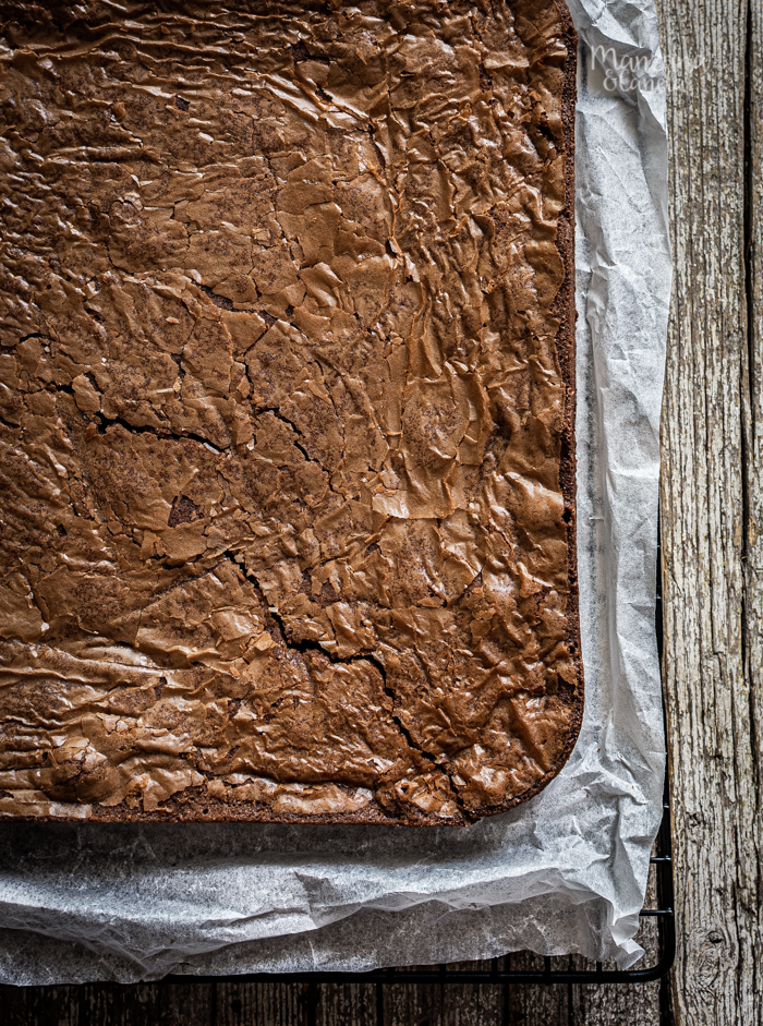 Brownie de Nutella. Receta facilísima.