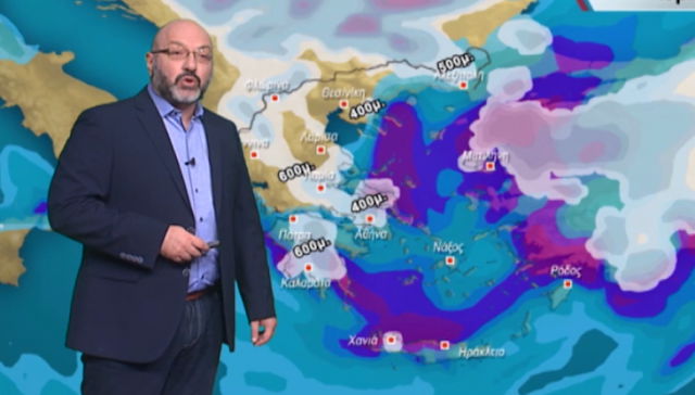 Αρναούτογλου:  Από μέσα Γενάρη η πιο ψυχρή γωνιά της Ευρώπης η Ελλάδα