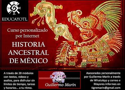 CURSO DE HISTORIA ANCESTRAL DE MÉXICO