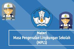 Download Materi MPLS Tahun Ajaran  2019-2020