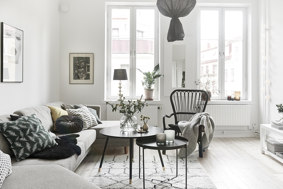 hvitfeldtsgatan 13 a mix of grays and neutrals. Black Bedroom Furniture Sets. Home Design Ideas