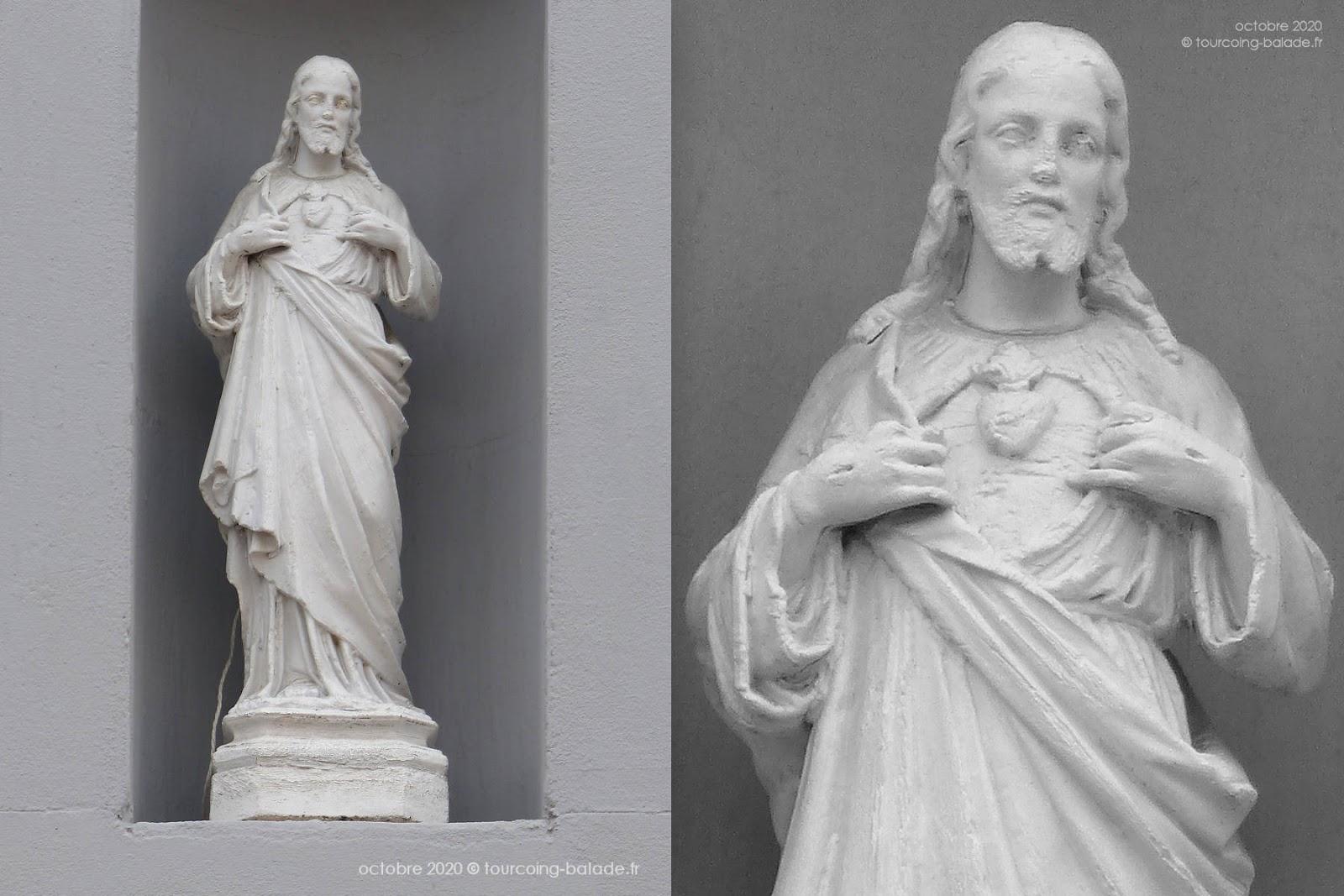 Sacré Coeur de Jésus, École St Christophe, Tourcoing 2020