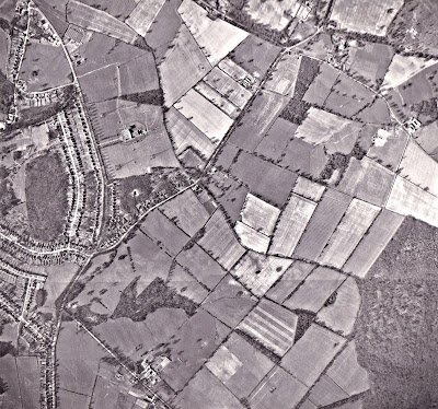 Aerial photograph of North Mymms from the Peter Miller Collection