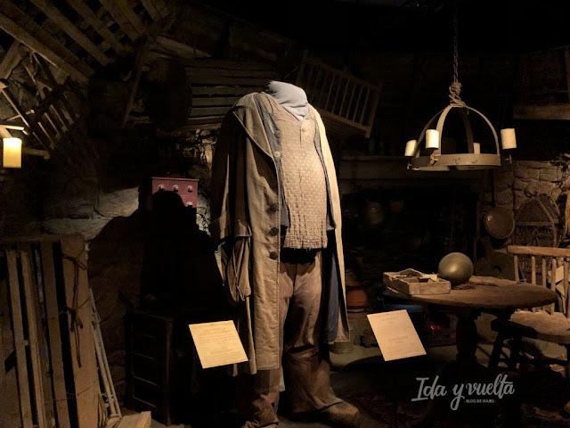 Exposición Harry Potter Valencia cabaña de Hagrid