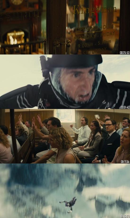 Kingsman The Secret Service 2014 BRRip 720p 480p Dual Audio Hindi English Full Movie Download