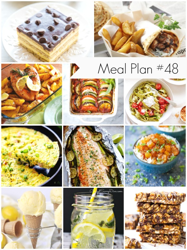 Weekly Meal Plan recipes and ideas - Ioanna's Notebook