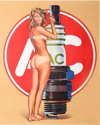 AC Spark Plug Pin-up