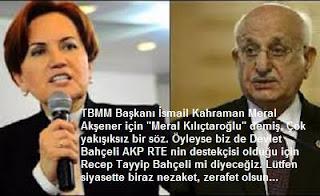 Bu Uslübü Meclis Başkanı İsmail Kahraman'a Yakıştıramadık