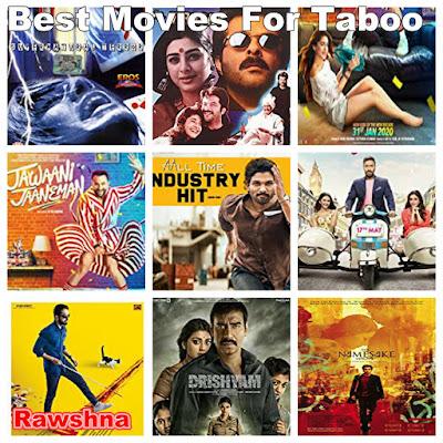 افضل افلام تابو على الاطلاق  Taboo قائمة أفضل 8 افلام تابو فيلم هوى | Hawa  Virasat  Jawaani Jaaneman Vaikunthapurramuloo De De Pyaar De Andhadhun