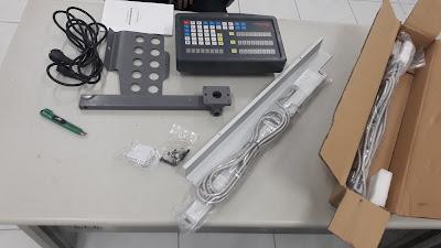 thước quang sino dùng cho máy tiện, máy phay