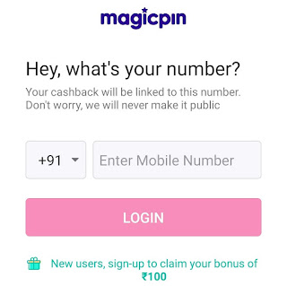 verify number for magicpin signup
