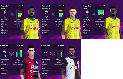 PES 2020 Faces Update by SR