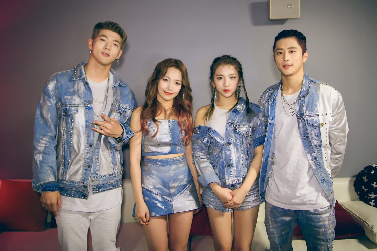 This Mexican Group Cheating on K.A.R.D's Concept and Music, DSP Media Will Take Legal Action