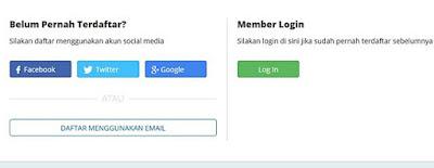 Lakukan pendaftaran email di rumahweb