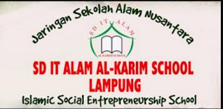 Info Karir Kerja Sekolah Alam Al-Karim Lampung