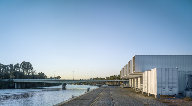 Shipping Container Cruise Terminal, Port of Seville, Spain 8