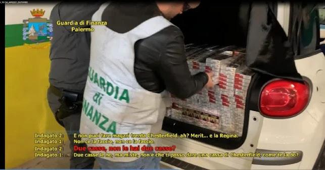 """Con l'Operazione """"DirtyFree"""" la Gdf sequestra tabacchi lavorati esteri e blocca traffico di stupefacenti (VIDEO)"""