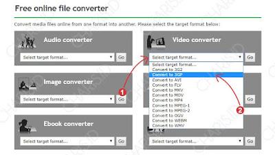 cara mengubah format file ke mp4 online