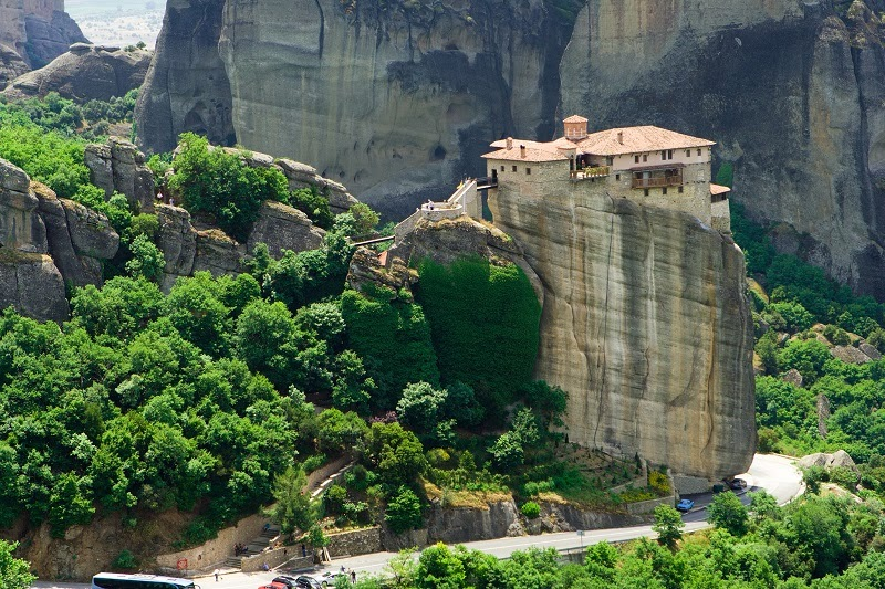 Meteora, a Unique Place in Hellas (Greece)