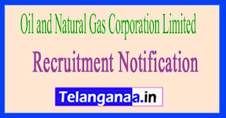 Oil and Natural Gas Corporation Limited ONGC Recruitment Notification 2017