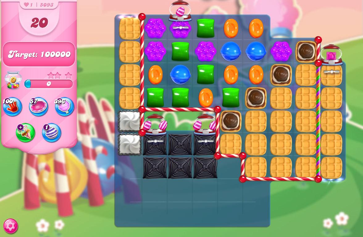 Candy Crush Saga level 5093